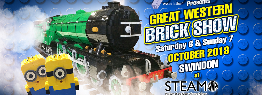 LEGO Great Western Brick Show Featured
