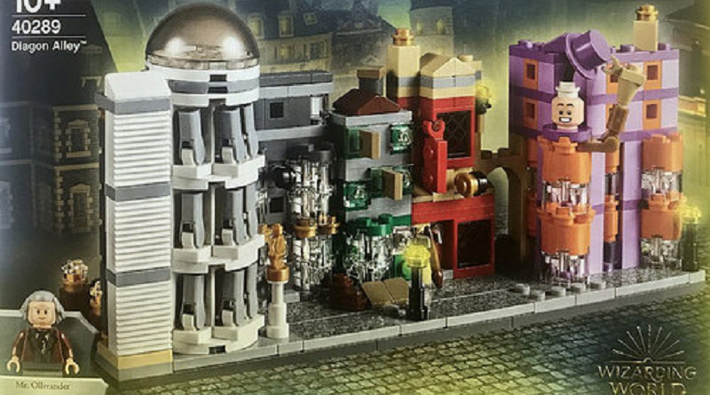 LEGO Harry Potter 40289 Diagon Alley Featured 800 445