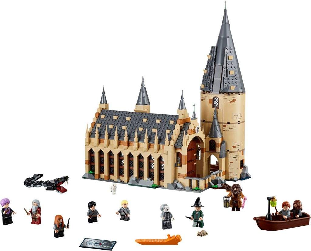 LEGO Harry Potter 75954 Hogwarts Great Hall 1 1024x825