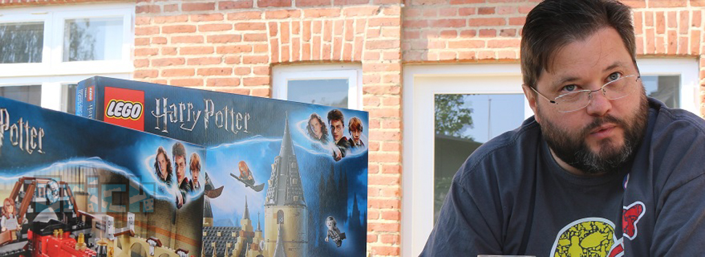 LEGO Harry Potter Mark Stafford Interview 31