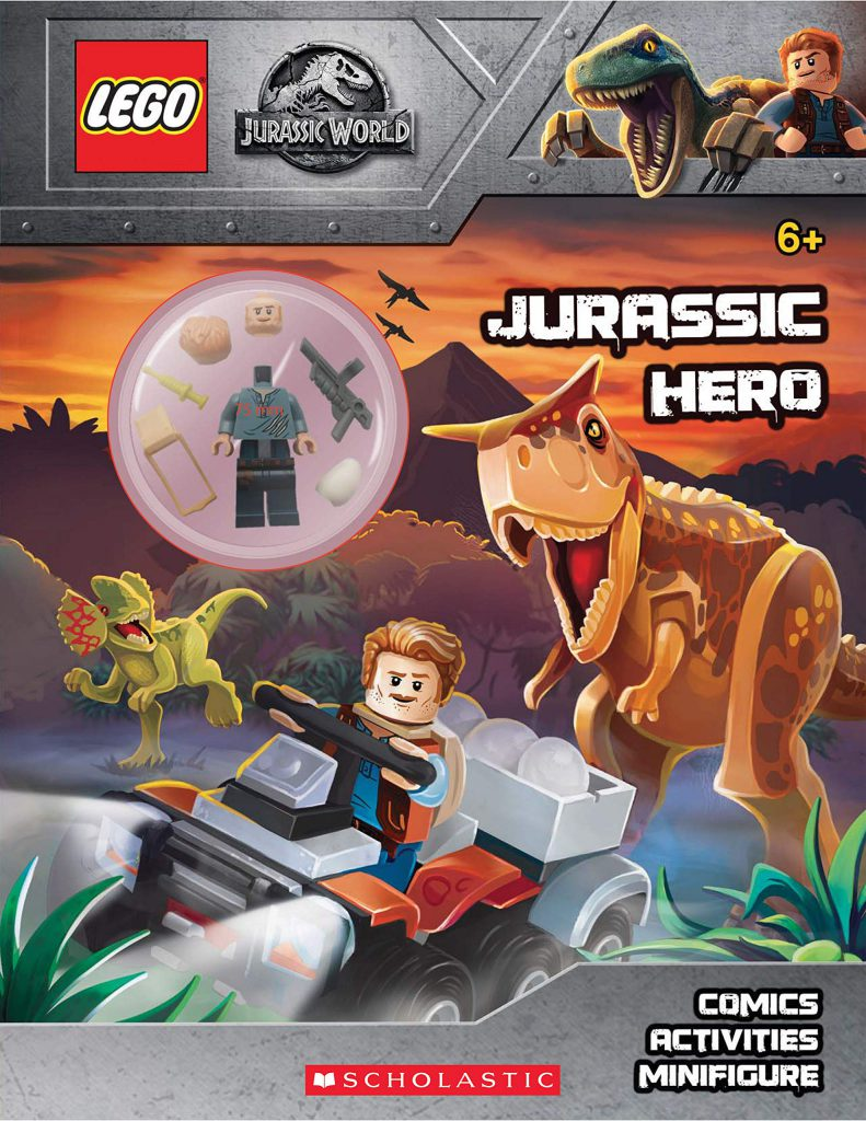 LEGO Jurassic World Activity Book 791x1024