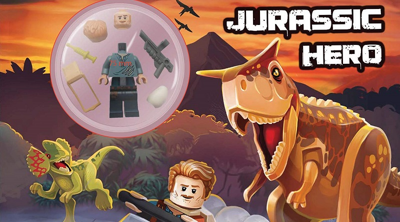 LEGO Jurassic World activity book featured 800 445