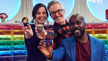 LEGO MASTERS Series 2 Hosts