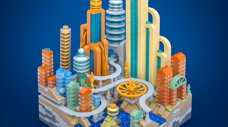 LEGO Micro Cities Featured 800 445
