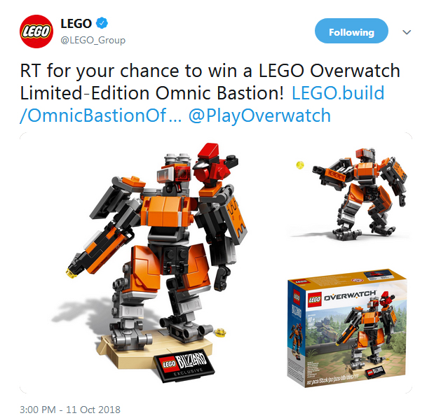 LEGO Overwatch 75987 Ominic Bastion Comp