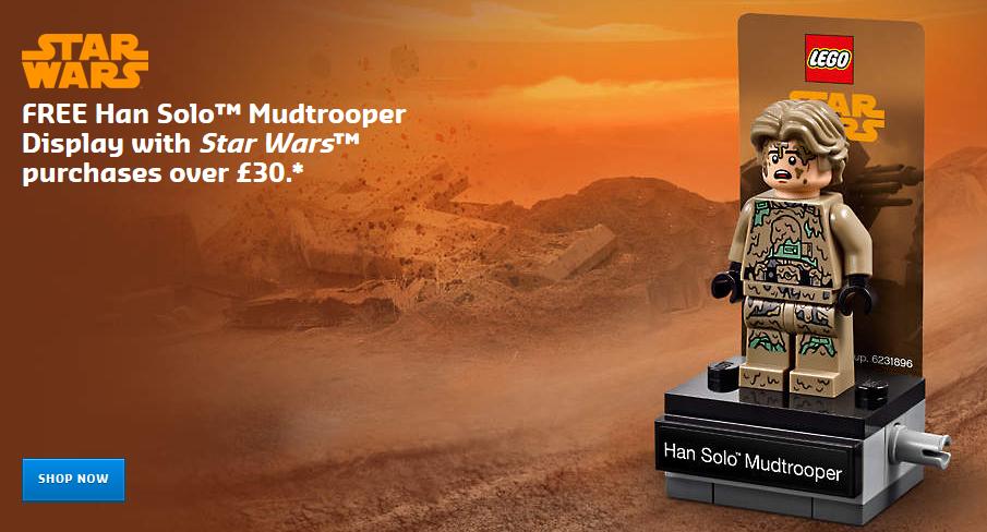 LEGO Star Wars 40300 Han Solo Mudtrooper Promo