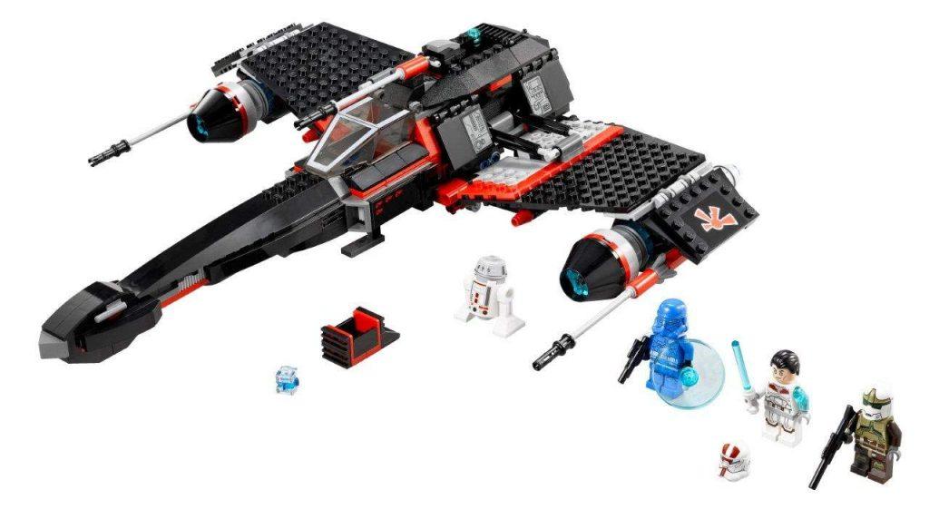 LEGO Star Wars 75018 Jek Starfighter 1024x572
