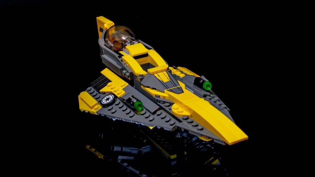 LEGO Star Wars 75214 Anakins Jedi Starfighter Review 10