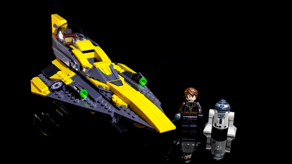 LEGO Star Wars 75214 Anakins Jedi Starfighter review 5
