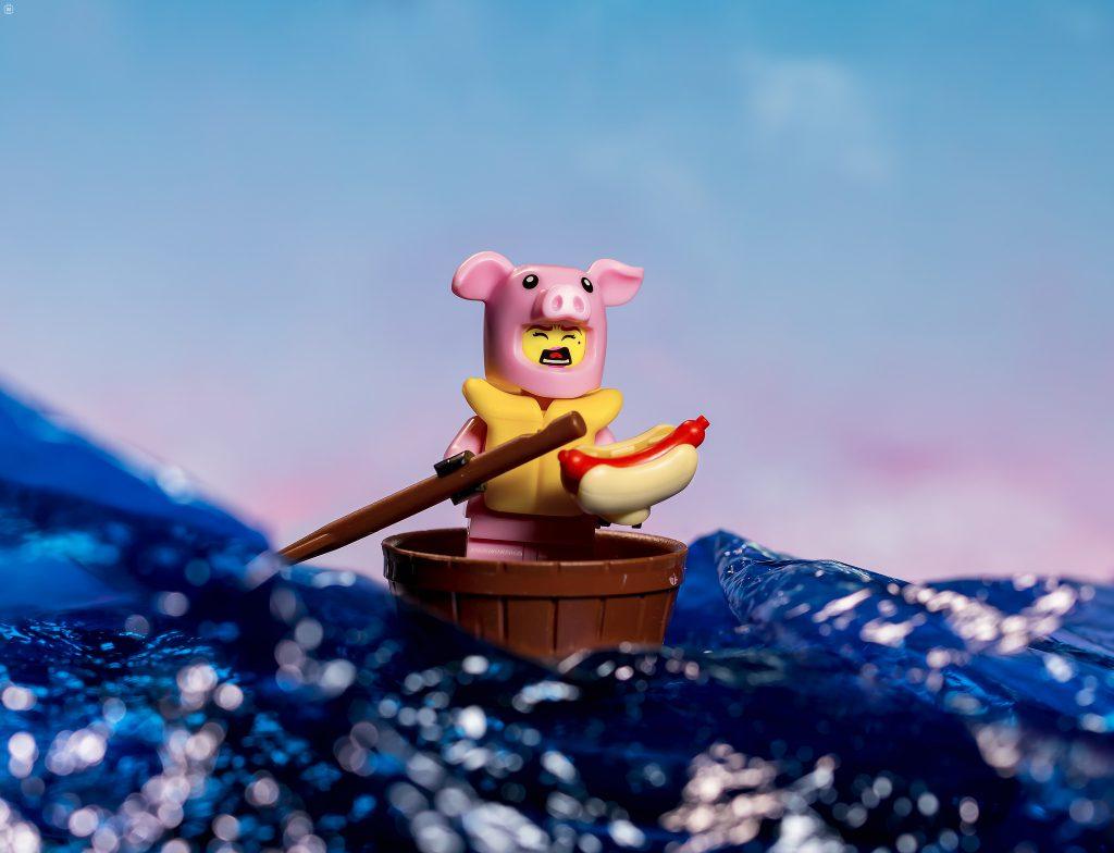 Brick Pic Pig At Sea 1024x784