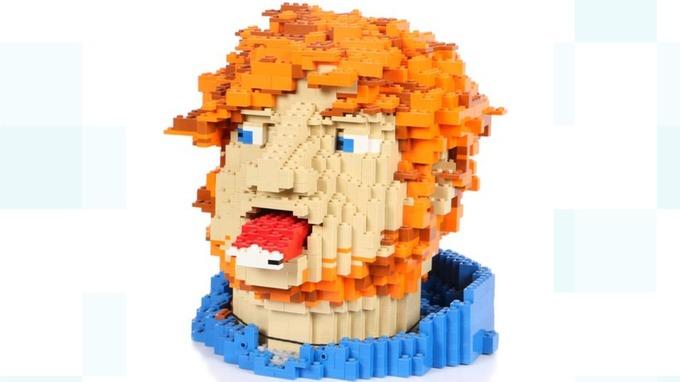 Ed Sheeran LEGo Bust