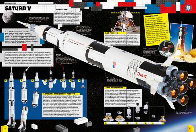 Guinness LEGO Ideas Saturn V
