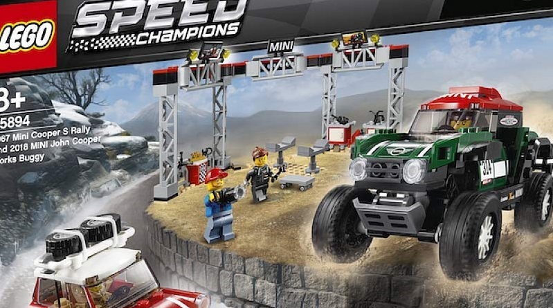 LEGO 75894 1967 Mini Cooper Rally 2018 MINI John Cooper Works Buggy Featured