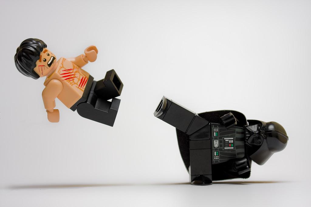 LEGO Bruce Lee Darth