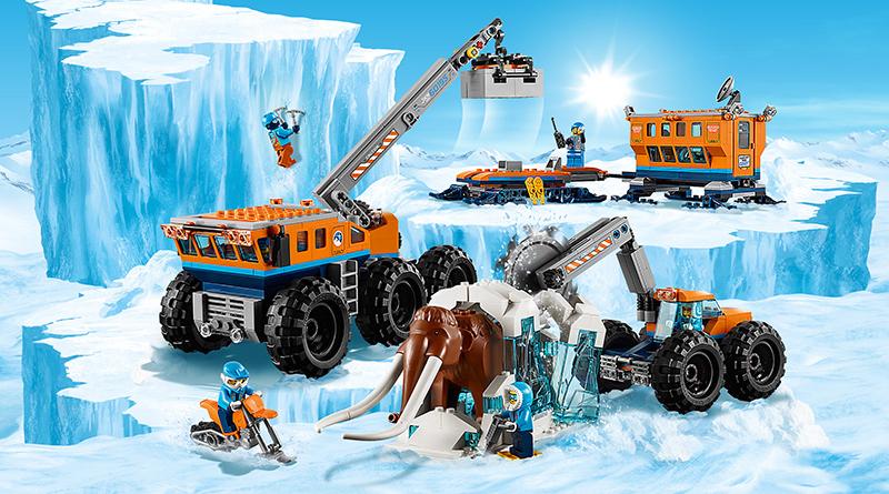 LEGO City 60195 Arctic Exploration Base Featured 800 445