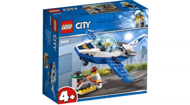 LEGO City 60206 Sky Police Jet Patrol 1 800x445