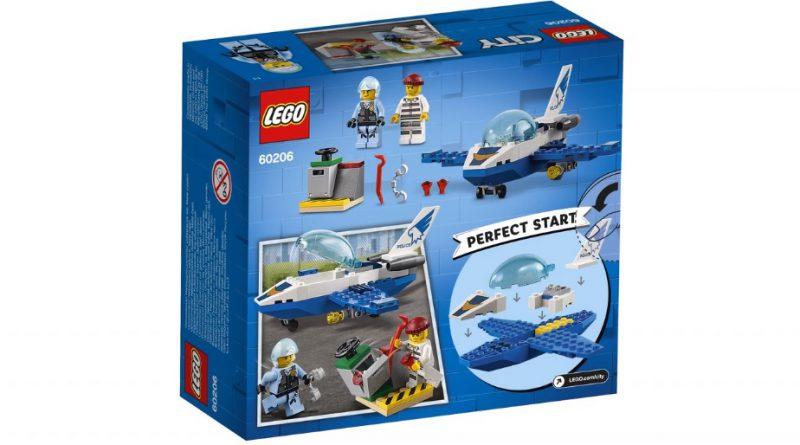 LEGO City 60206 Sky Police Jet Patrol 2 800x445