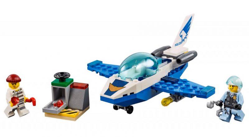 LEGO City 60206 Sky Police Jet Patrol 3 800x445