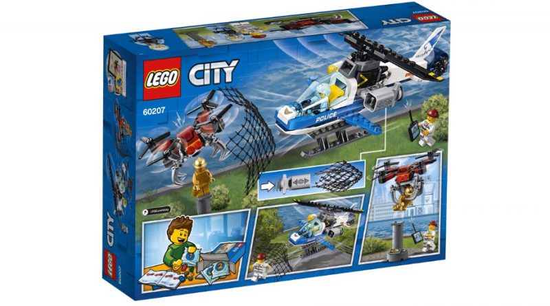 LEGO City 60207 Sky Police Drone Chase 2 800x445
