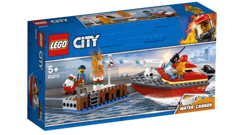 LEGO City 60213 Dock Side Fire 1 1 800x445