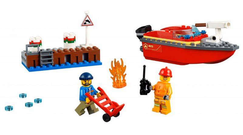 LEGO City 60213 Dock Side Fire 3 800x445