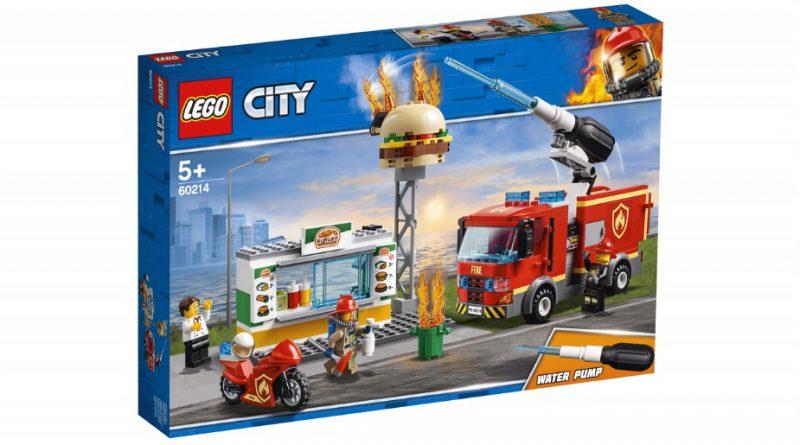 LEGO City 60214 Burger Bar Fire Rescue 1 800x445