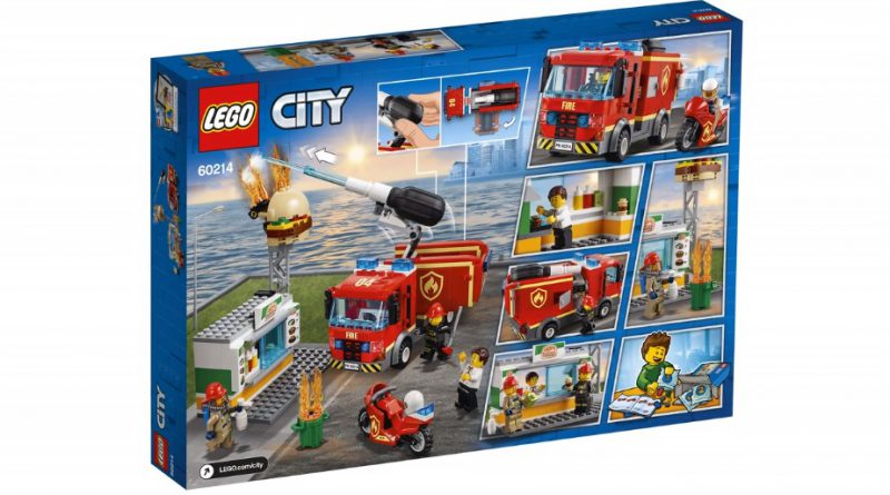 LEGO City 60214 Burger Bar Fire Rescue 2 800x445