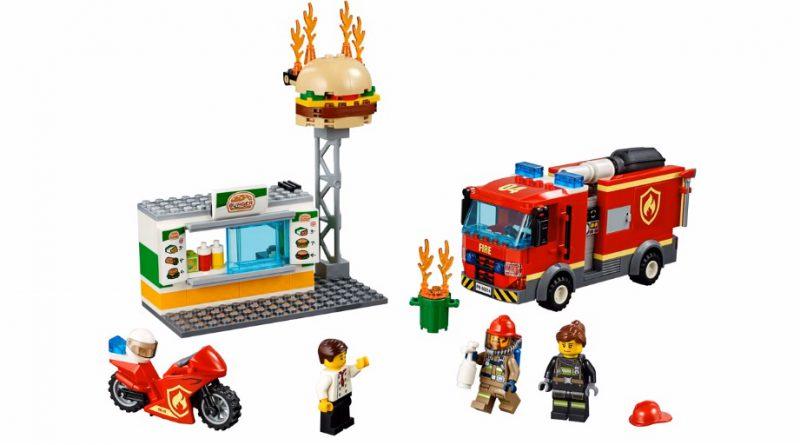 LEGO City 60214 Burger Bar Fire Rescue 3 800x445