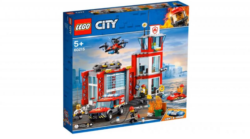 LEGO City 60215 Fire Station 1 800x445