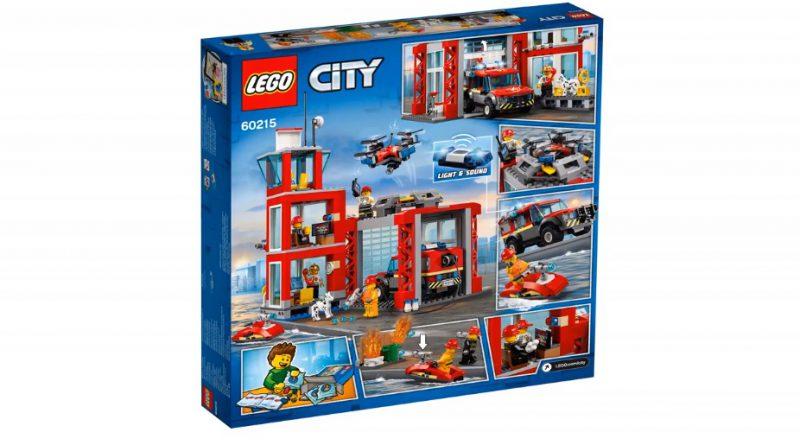 LEGO City 60215 Fire Station 2 800x445