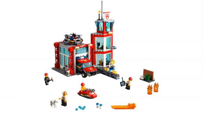 LEGO City 60215 Fire Station 3 800x445