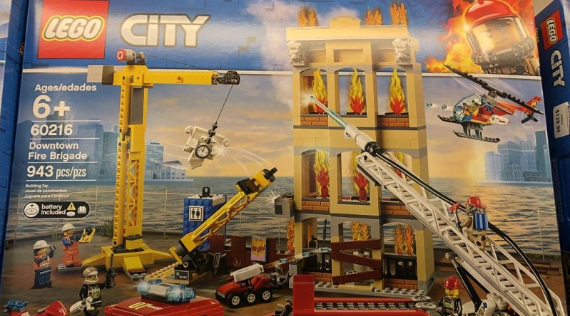 LEGO City 2019 sets found at retail in Canada
