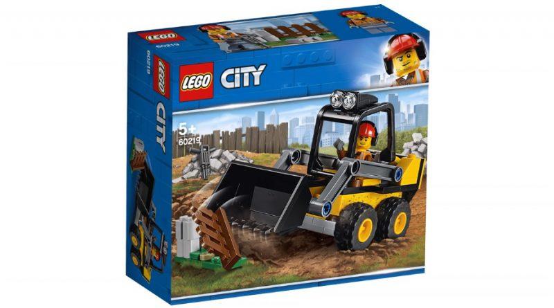 LEGO City 60219 Construction Loader 1 800x445