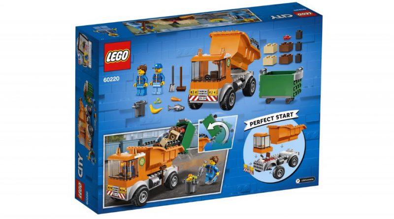LEGO City 60220 Garbage Truck 2 800x445