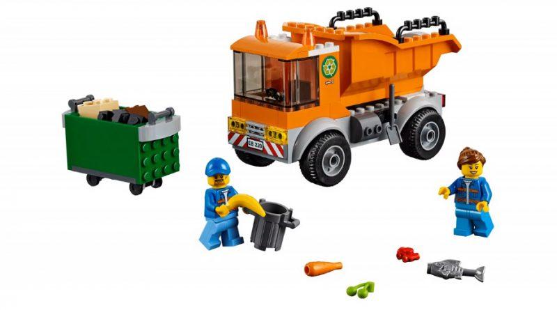 LEGO City 60220 Garbage Truck 3 800x445