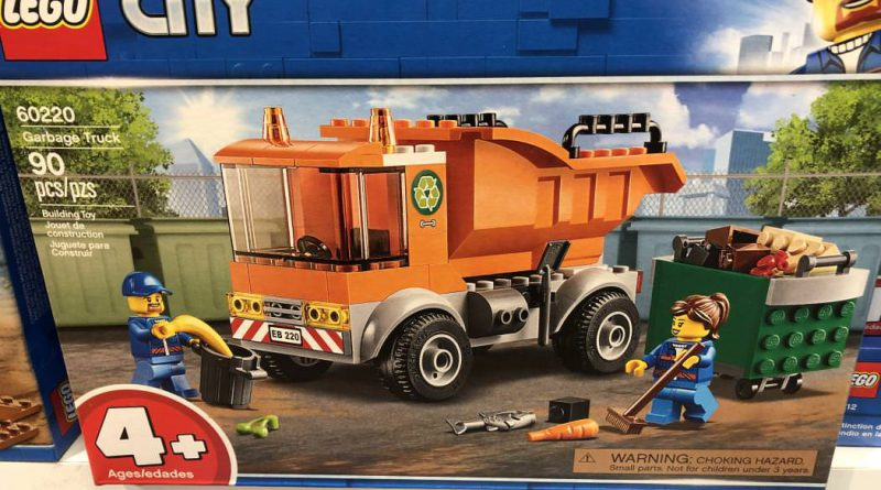 LEGO City 60220 Garbage Truck 800x445