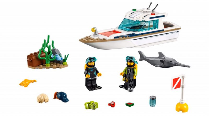 LEGO City 60221 Diving Yacht 3 800x445