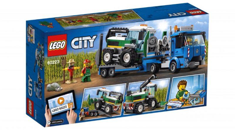 LEGO City 60223 Harvester Transporter 2 800x445