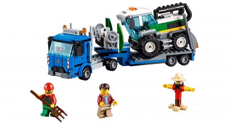LEGO City 60223 Harvester Transporter 3 800x445
