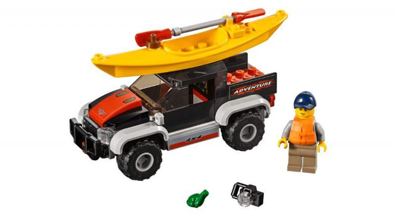 LEGO City 60240 Kayak Adventure 3 800x445
