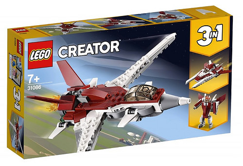LEGO Creator 31086 Futuristic Flyer 1 1