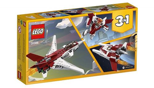 LEGO Creator 31086 Futuristic Flyer 2