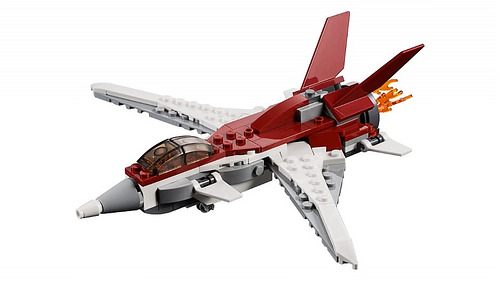 LEGO Creator 31086 Futuristic Flyer 3