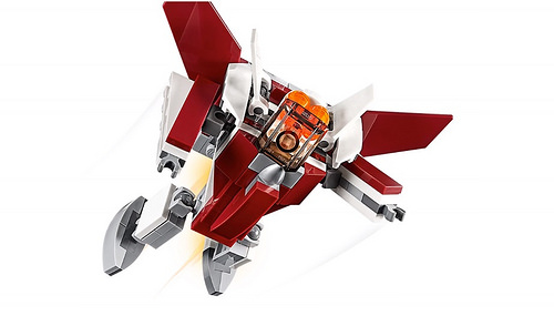 LEGO Creator 31086 Futuristic Flyer 4