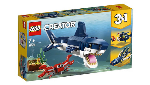 LEGO Creator 31088 Deep Sea Creatures 1