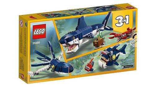 LEGO Creator 31088 Deep Sea Creatures 2