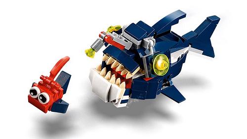 LEGO Creator 31088 Deep Sea Creatures 5