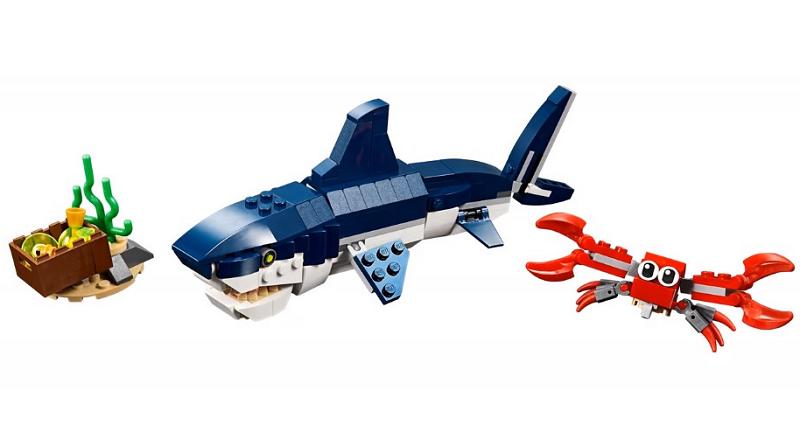 LEGO Creator 31088 Deep Sea Creatures featured 800 445