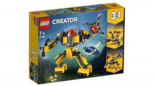 LEGO Creator 31090 Underwater Robot 1