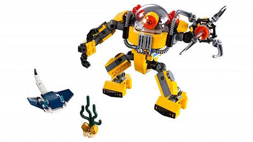 LEGO Creator 31090 Underwater Robot 3